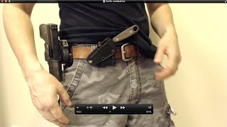 Knife / Blade Combative Cross Draw for Self Defense