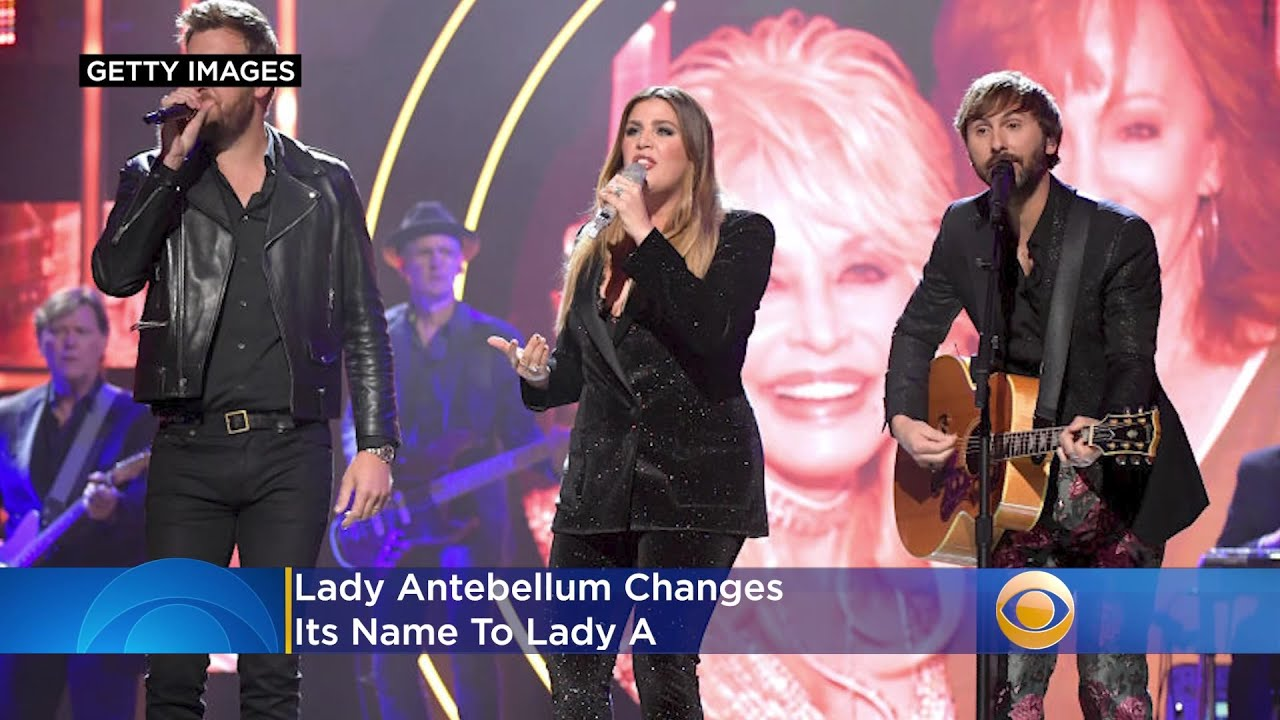 'We Are Regretful And Embarrassed': Lady Antebellum Changes Its ...