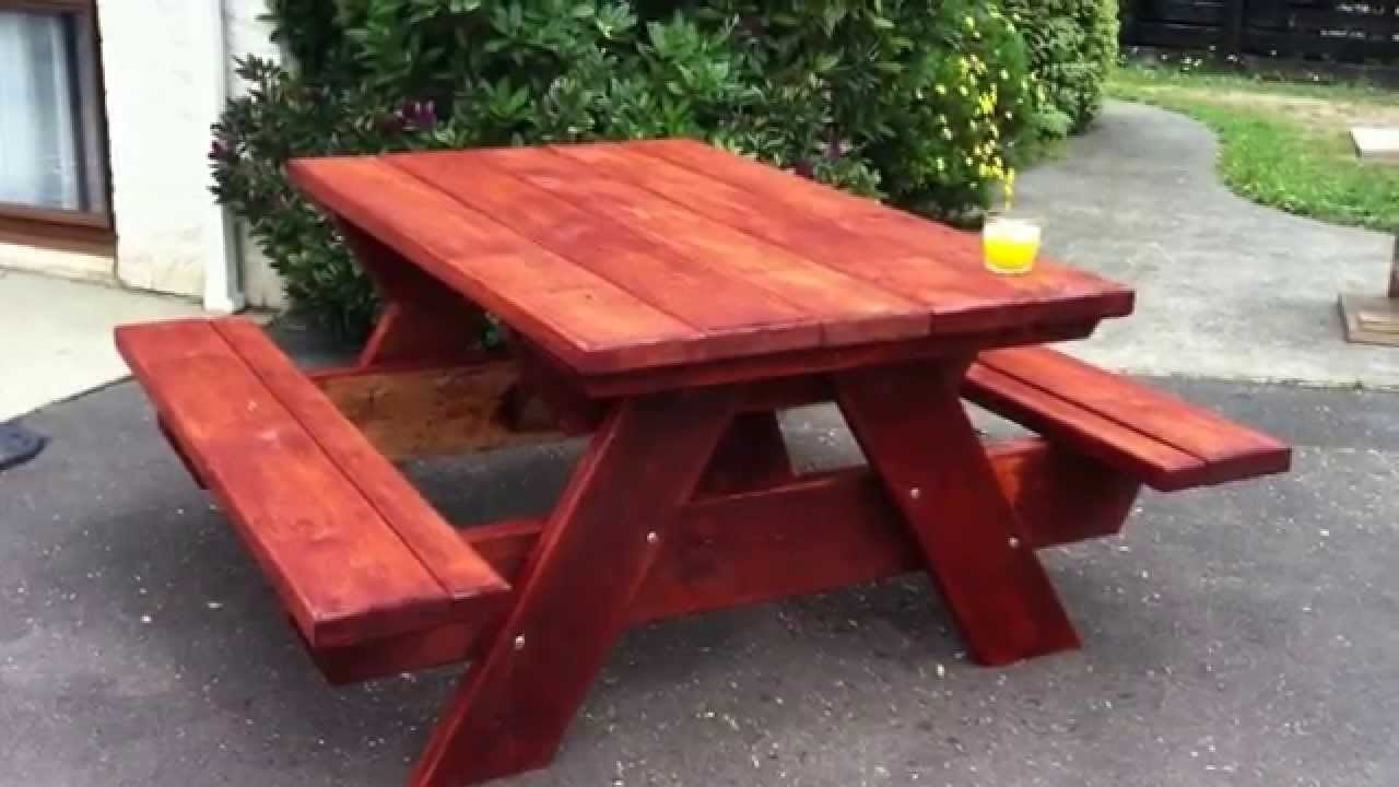 Picnic Table Design By Jay Bates Youtube