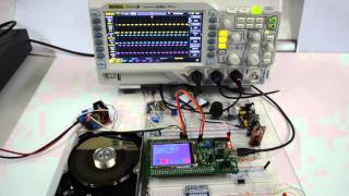 Hardrive at 9000rpm with STM32