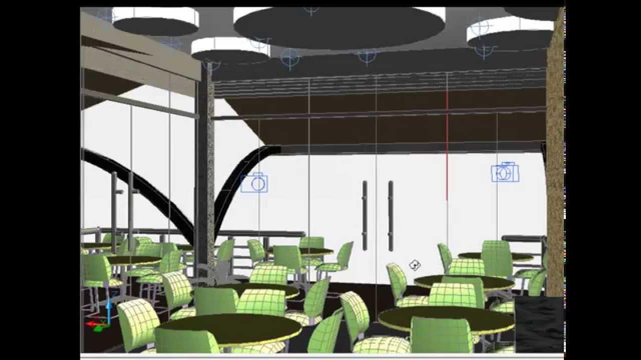 Creating d restaurant design en autocad youtube