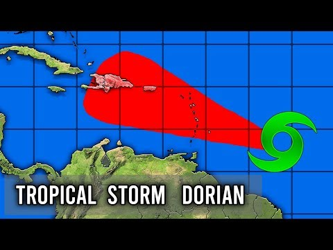 Tropical Storm Dorian Forecast