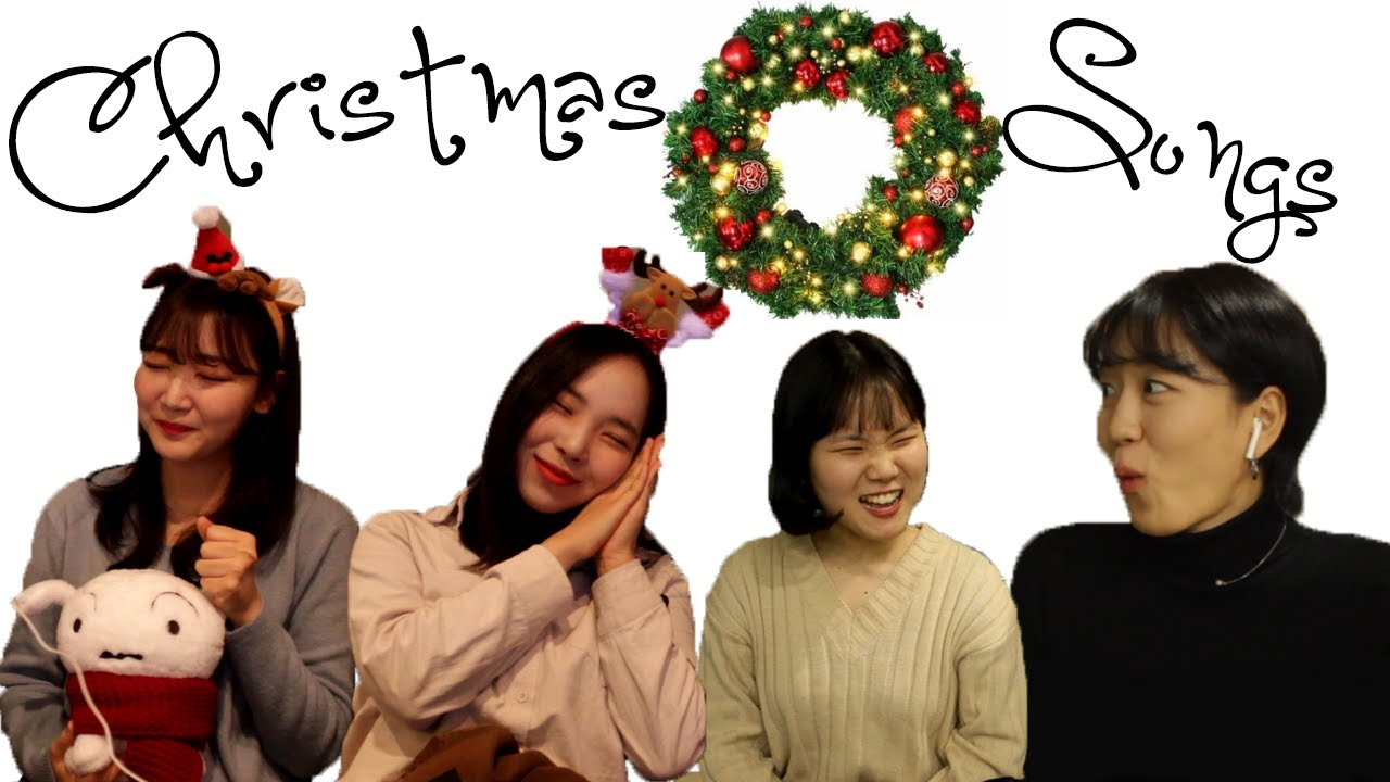 Koreans React to Famous Christmas Songs(Mariah Carey, Bing Cosby, Michael Buble, and more) - YouTube