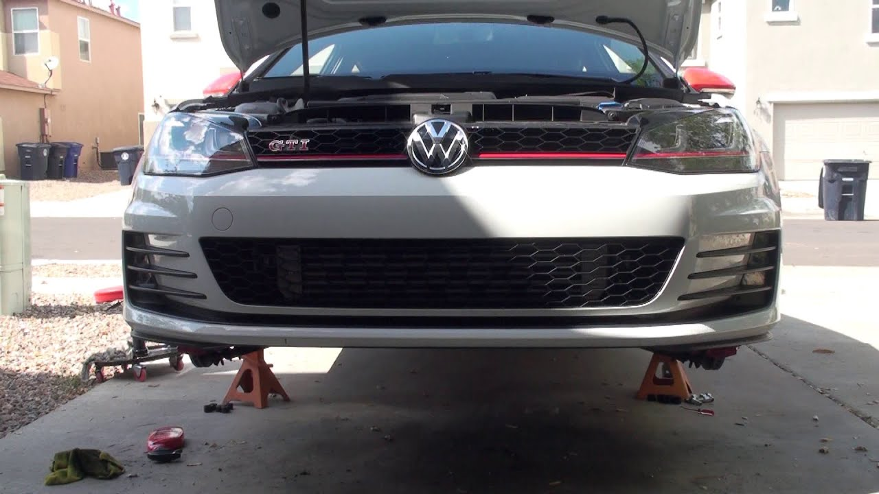 2015 vw gti forge twintercooler install mk7 youtube. Black Bedroom Furniture Sets. Home Design Ideas