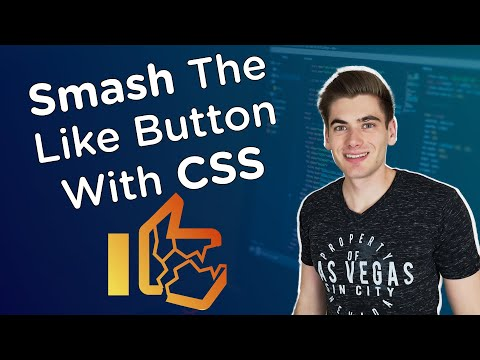 I Used CSS And JavaScript To Smash The Like Button