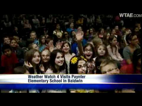 Weather Watch 4 School Visit: Paynter Elementary School