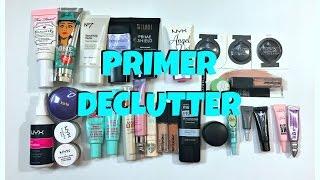 Primer Declutter: Declutter with me!