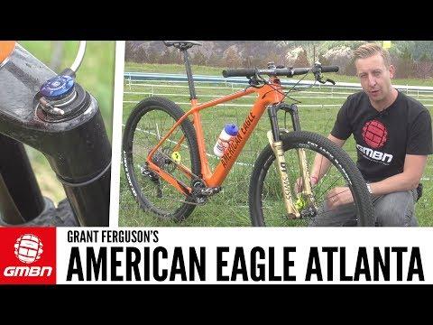 Grant Ferguson's American Eagle Atlanta 2.0 Carbon XC Bike | GMBN Pro Bikes