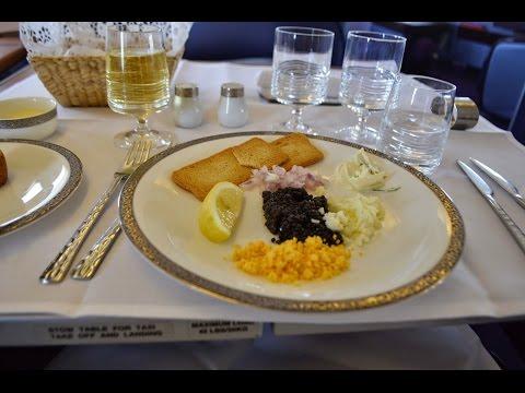 Thai Airways First Class TG476 Sydney to Bangkok - B744 (2014)