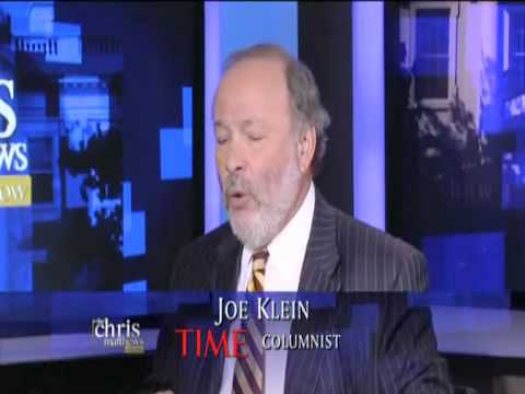 "Joe Klein:  ""Bigoted"" If You Don't Think Obama's Intelligent - The Chris Matthews Show"