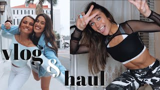 vlog: day trip to Charleston & clothing try on haul!