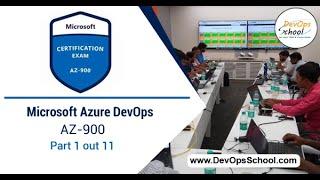 Microsoft Azure DevOps | AZ-900 | Part 1 out 11- by DevOps School