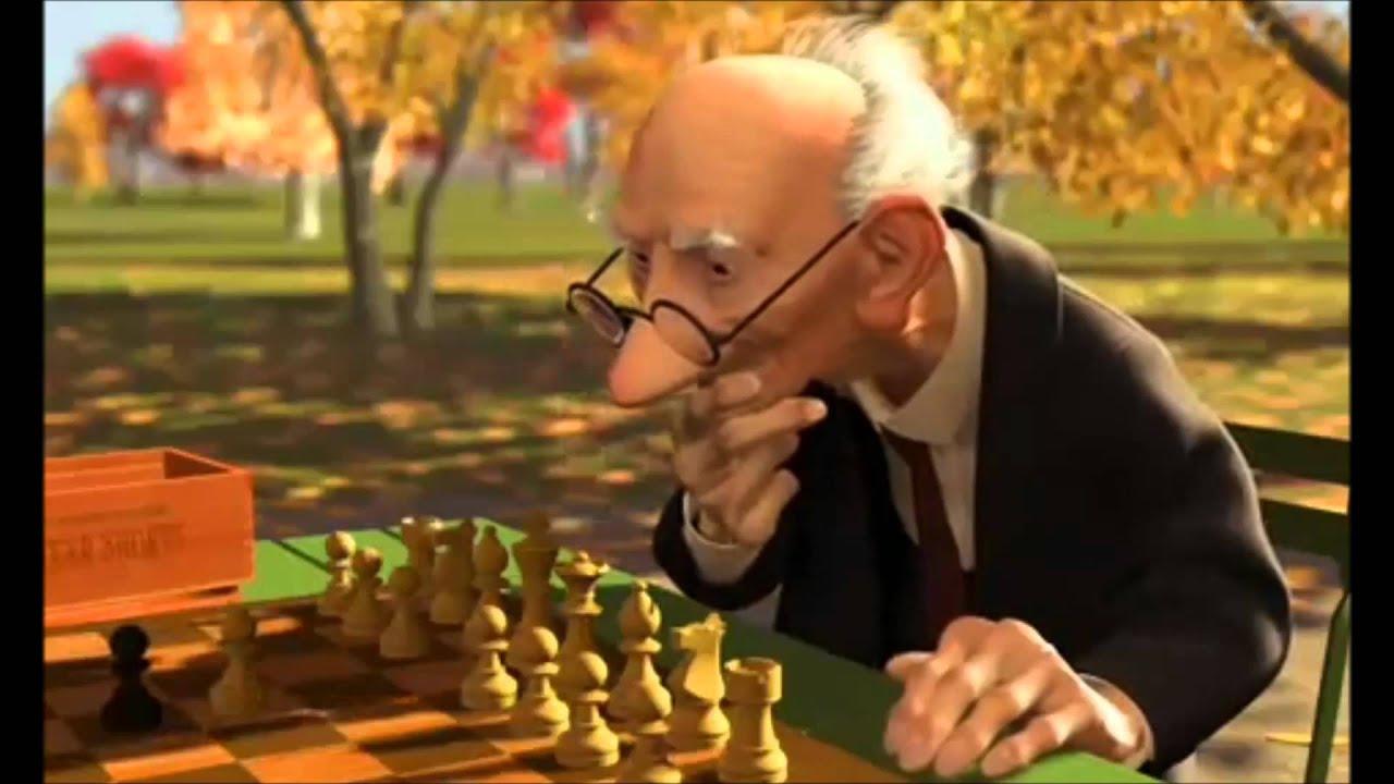 Geri's Game Pixar