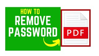 How to Remove Password Protect…