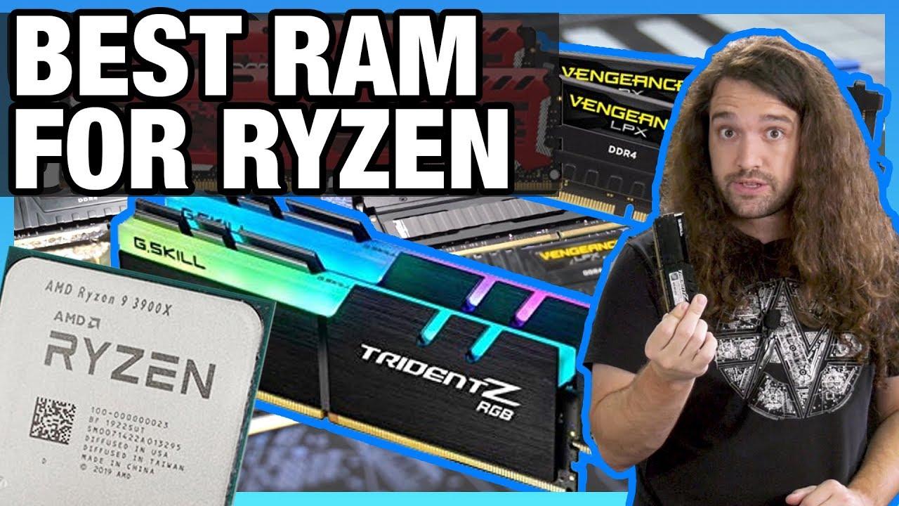 Ryzen 3000 Memory Benchmark & Best RAM for Ryzen (fClock