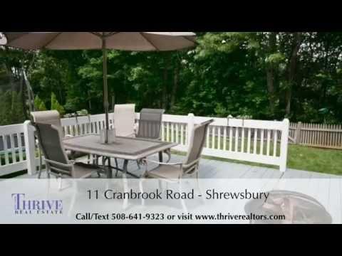 11 Cranbrook Road Shrewsbury Ma Homes For Sale In Shrewsbury