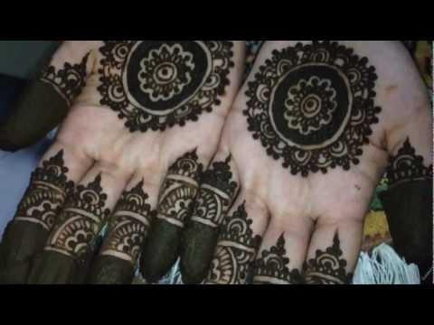 Moroccan Mehndi Patterns : Moroccan inspired bridal henna design youtube