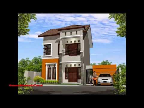 Rumah Minimalis Tampak Depan 2 Lantai Modern Terbaru Youtube