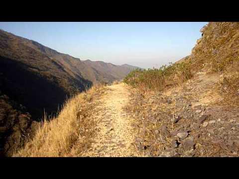 Trekking en las Termas de Reyes - Jujuy - Argentina - Regreso Bordeando los Cerros (pt. 1)