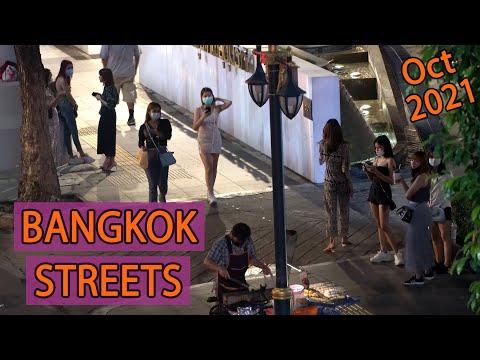 Bangkok Lockdown Update - Streets Night Scenes | October 2021