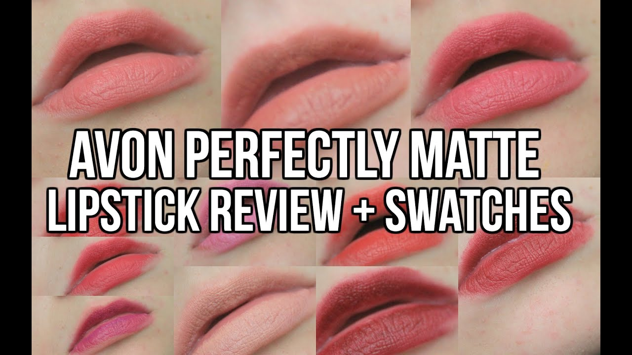 Avon Perfectly Matte Lipstick Review Swatches Funsizedstyle