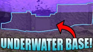 UNDERWATER BASE IN THE VOID! | ROBLOX: Booga Booga