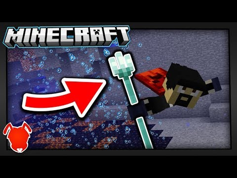 """ARE """"TRIDENTS"""" the BEST WEAPON in MINECRAFT?!"""