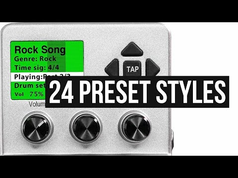 BeatBuddy - 24 Factory Preset Styles