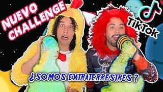 NUEVO Challenge TIK TOK ¿Somos extraterrestres o alemanes? *Foam Challenge* Los Rules