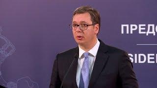 Aleksandar Vučić o ubistvu Olivera Ivanovića, 16. januar 2018.