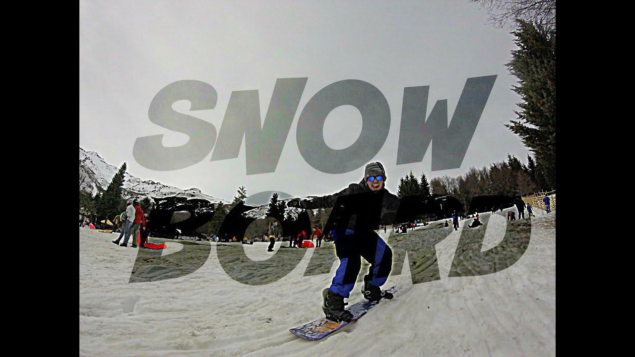 Gopro: snowboard para principiantes