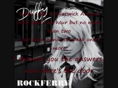 duffy warwick avenue lyrics