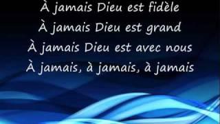À Jamais (Dieu Est Fidèle) - His Love Endures Forever