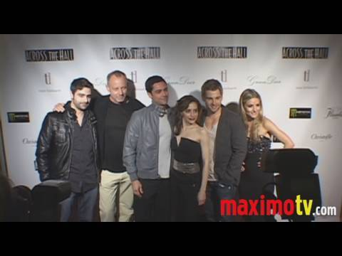 ACROSS THE HALL Premiere with Brittany Murphy (Last Appearance)