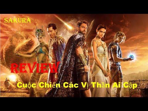 Xem phim Các vị thần Ai Cập - REVIEW PHIM CUỘC CHIẾN CÁC VỊ THẦN AI CẬP    GODS OF EGYPT    SAKURA REVIEW