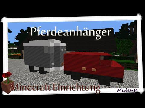 Minecraft - Pferdeanhänger / Einrichten In Minecraft