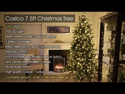 costco christmas tree australia 2017 short review - Costco Christmas Decorations 2017 Australia