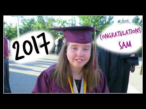 SAM GRADUATES!!      (video 467)