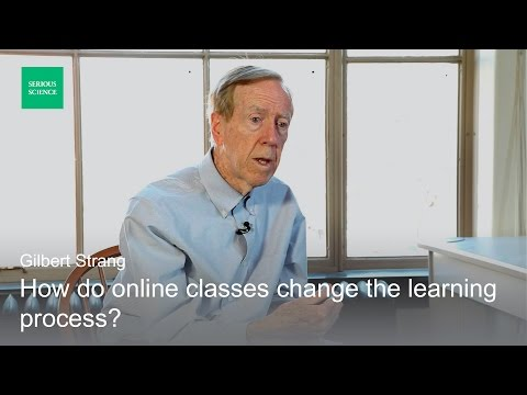 Teaching Mathematics Online - Gilbert Strang