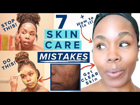 7 SKIN CARE MISTAKES You're Making | STOP Acne, Wrinkles, Hyperpigmentation, Dark Spots & Scars