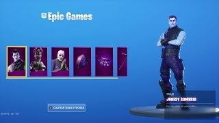 PACK DARK LEGENDS! NEW SKINS DARK RUBRA, JONESY AND DARK WILDCARD! Fortnite
