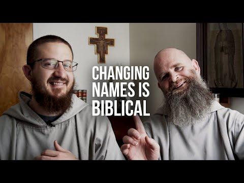 Why Religious Change Names
