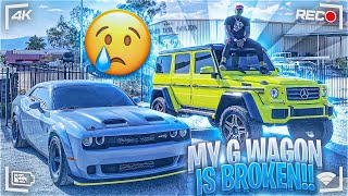 SPENT 100k on my audemars piguet!!! MY Mercedes-Benz 4x4 squared BROKE!!!