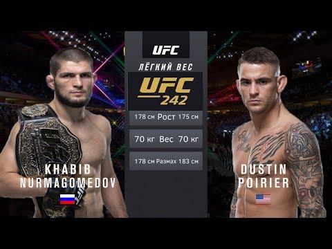 Хабиб Нурмагомедов Vs Дастин Порье Бой UFC 242 / UFC