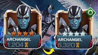 Archangel Rank Up, Abilities & Gameplay - Marvel Contest Of Champions