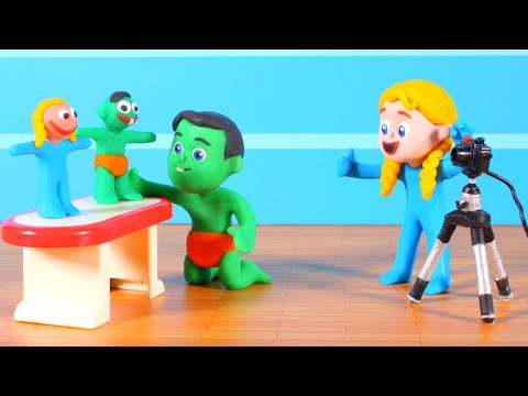 Kids Making A Stop Motion Movie ❤ Cartoons for Kids