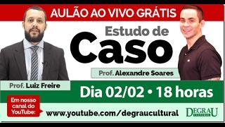Convidamos os professores Luiz Freire e Alexandre Soares para um ba...