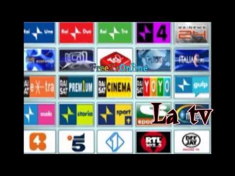 GUARDARE LA TV SU INTERNET