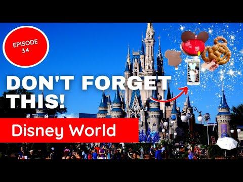 Disney Mobile Food Order (How to Order Food on Phone at Disney -Ep34)