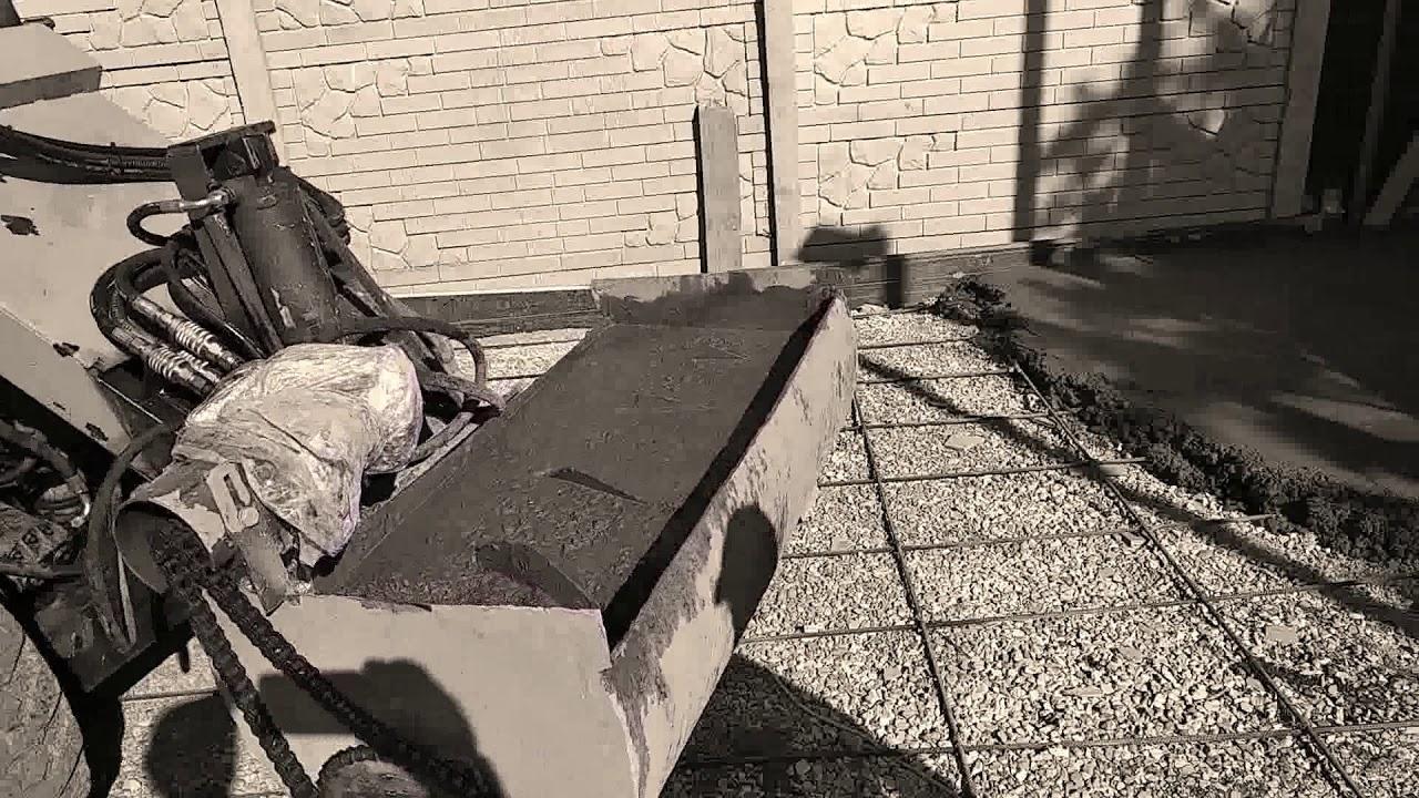 Бетона мешалка своими рикша бетон